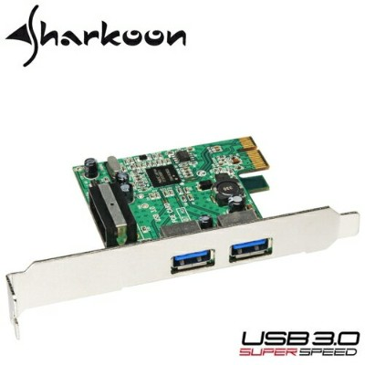 Sharkoon PCI Express接続USB3.0 HOSTカード 【6000円以上送料無料】 05P11Aug14 【RCP】