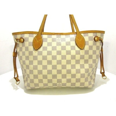 LOUIS VUITTON(ルイヴィトン) トートバッグ ダミエ ネヴァーフルPM N51110 アズール ダミエ・キャンバス【20190815】【中古】【dfs】