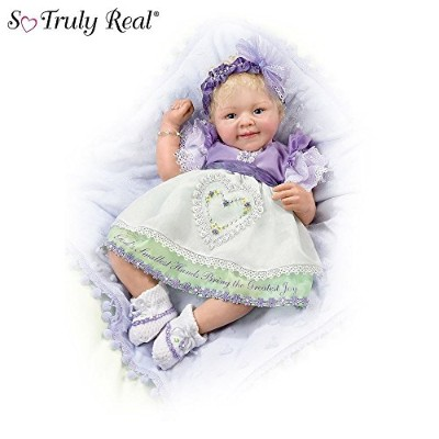 So Truly Real God's Smallest Hands Bring The Greatest Joy Baby Doll by Ashton Drake アシュトンドレ