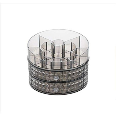 Acrylic Rotating Cosmetic Storage Box Home Bedroom Desktop Net Red Makeup Box Lipstick Skin Care...