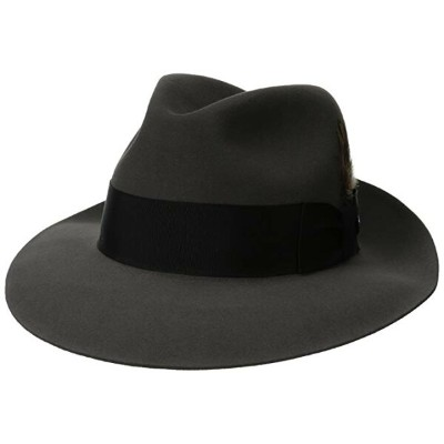 Stetson メンズ Sttson Temple ロイヤル Deluxe ファー フェルト ハット, Caribou, 7.375 (海外取寄せ品)