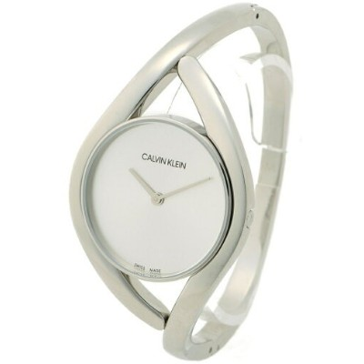 【SALE/40%OFF】CALVIN KLEIN WATCHES+JEWELRY (W)カルバンクライン 腕時計 Party(パーティー) 2針 シルバー×シルバー カルバンクラインウォッチアンドジ...