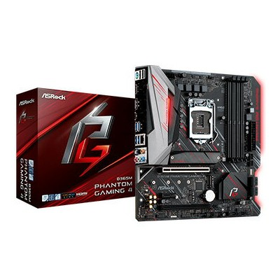 ASRock マザーボード B365M Phantom Gaming 4 B365M-PHANTOM-GAMING4