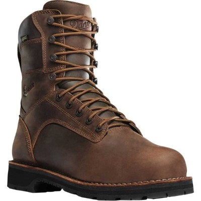 "ダナー メンズ ブーツ&レインブーツ シューズ Workman GORE-TEX 8"" Boot Brown Oiled Full Grain Leather"
