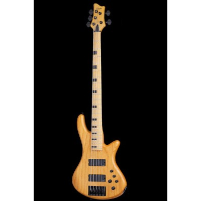 Schecter Diamond Series STILETTO SESSION 5 Aged Natural Satin(ANS)[AD-SL-SS5/ANS]《5弦ベース》【送料無料】...
