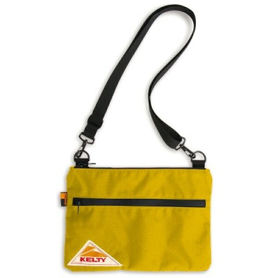 KELTY(ケルティ) VINTAGE FLAT POUCH SM Mustard 2592214