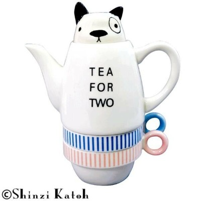 Shinzi Katoh Tea For Two ティーフォーツー French bulldog(フレンチブルドッグ) SKTFT-03
