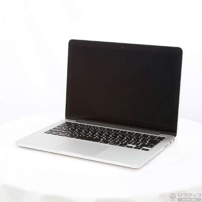 【中古】Apple(アップル) MacBook Pro 13.3-inch Early 2015 MF841J/A Core_i5 2.9GHz 8GB SSD512GB 〔10.11...