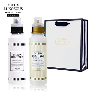 MIEUX LUXGEOUS R FABRIC SOFTENER R & FABRIC SOFTENER GOLD LABEL with PAPERBAG02
