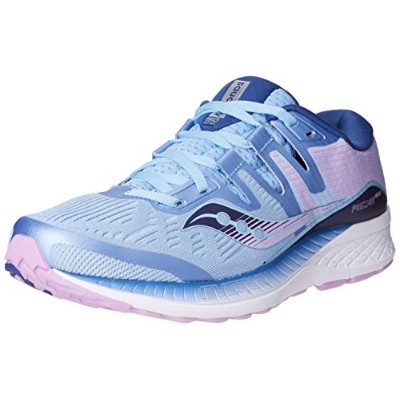Saucony Ride ISO [S10445-1] Women Running Shoes Blue/Navy-Purple-090