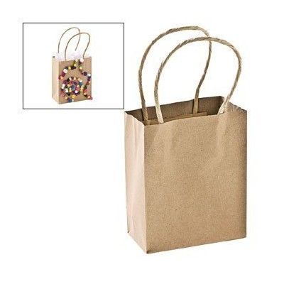 Small Craft Gift Bags - Party Favor & Goody Bags & Paper Goody Bags & Boxes by Oriental Trading...