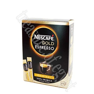 NESCAFE Gold Espresso 100% Arabica Ground Coffee Beans The Finest Instant Aroma Coffee Beverages...