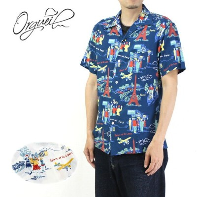 ORGUEIL オルゲイユ アロハシャツ OPEN COLLERED SHIRT OR-5030B 【RCP】10P03Dec16