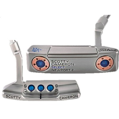 ★PUTTER OF THE DAY 2016Jackpot Johnny 刻印★特注!キャメロン カスタムショップ2016 シルバーセレクト NP2Jackpot Johnny 刻印...