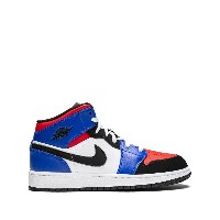 Nike Kids Air Jordan 1 Mid GS スニーカー - ブルー