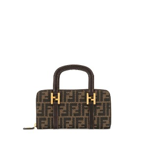 Fendi Pre-Owned ズッカパターン トートバッグ - ブラウン