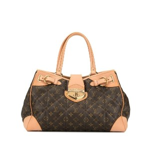 Louis Vuitton Pre-Owned ショッパートートバッグ - ブラウン