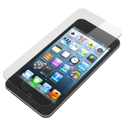 PGA iPod touch(第5世代 / 第6世代)用 液晶保護ガラス スーパークリア PG-IT5GL01 [PGIT5GL01]【SPSP】