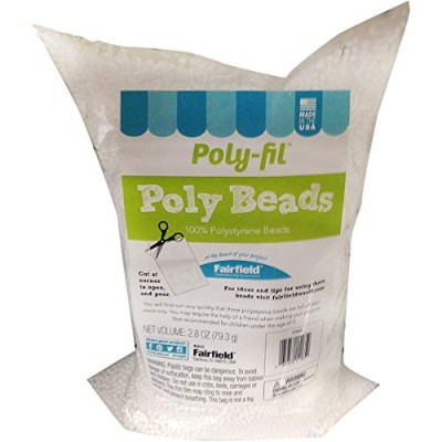 Fairfield Poly-Fil Poly Beads-2.8oz FOB: MI
