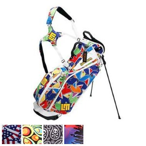 LoudMouth 8.5 Inch Double Strap Golf Bag キャディバッグ 【ゴルフ バッグ>スタンドバッグ】