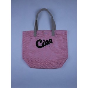 LUDLOW/ラドロー 【予約販売】【3月上旬以降届】Mesh tote Pink(Ciao)【三越・伊勢丹/公式】 バッグ~~トートバッグ~~レディース トートバッグ