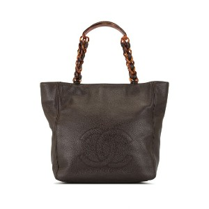 Chanel Pre-Owned ココアマーク トートバッグ - ブラウン