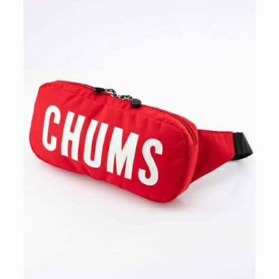 EcoCHUMSLogoWaistBag CHUMS(チャムス)(エコチャムスロゴウエストバッグ)-Red