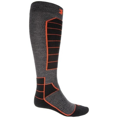 アンダーアーマー Under Armour メンズ スキー・スノーボード ソックス【Mountain High-Performance Ski Socks - Merino Wool Blend,...