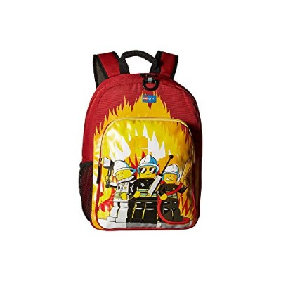 LEGO シティ クラシック バックパック バッグ リュックサック 赤 レッド 【 RED LEGO CITY FIRE HERITAGE CLASSIC BACKPACK 】 キッズ ベビー...