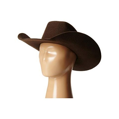 M&F WESTERN M&F 【 WESTERN TWISTER WOOL COWBOY HAT W FLAT BOW LITTLE KIDS BIG CHOCOLATE 】 キッズ ベビー...