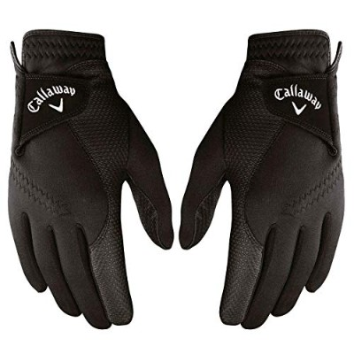 New 2019 Callaway Thermal Grip Winter Golf Gloves (1 Pair- Left & Right) with Optimal Warmth...