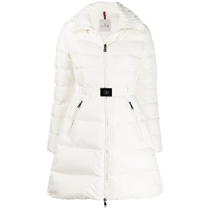 Moncler hooded puffer jacket - ホワイト