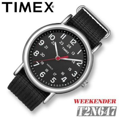 TIMEX【T2N647】WEEKENDER CENTRAL PARK FULL SIZE 38mm径 タイメックス ウィークエンダー セントラルパーク メンズ クォーツ腕時計 ナイロンベルト...