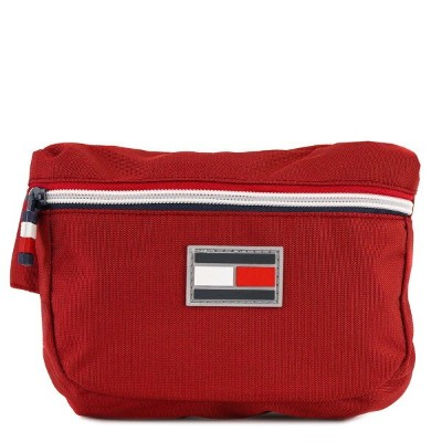 TOMMY HILFIGER トミー ヒルフィガー ボディバッグ TC090EX9 TH-826 EXCUSION 男女兼用 ウエストバッグ TOMMY RED トミーレッド 【送料無料 並行輸入品】