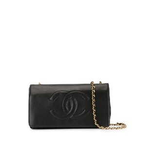 Chanel Pre-Owned チェーンウォレット - ブラック