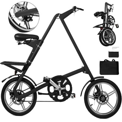 折り畳み自転車 小径 Happybuy Folding Bike Lightweight