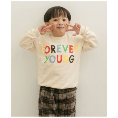 【SALE/40%OFF】DOORS mini rodini Forever young sp sweatshi アーバンリサーチドアーズ カットソー キッズカットソー ホワイト【送料無料】