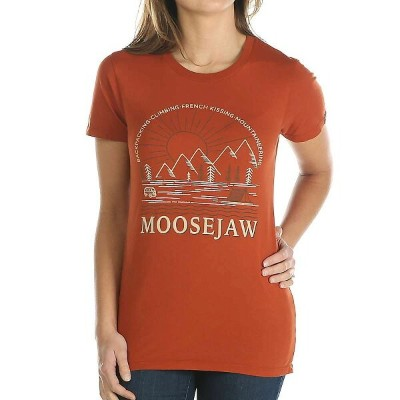 ムースジョー Moosejaw レディース Tシャツ トップス【Down by the River Classic Regs SS Tee】Picante