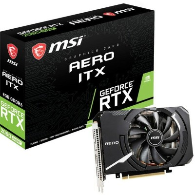 MSI GeForce RTX 2060 SUPER AERO ITX [グラフィックボード]