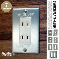 SWITCH PLATE(スイッチプレート) SW11・SW12・SW13・SW16 PACIFIC FURNITURE SERVICE(パシフィックファニチャーサービス) カラー(ブラック...