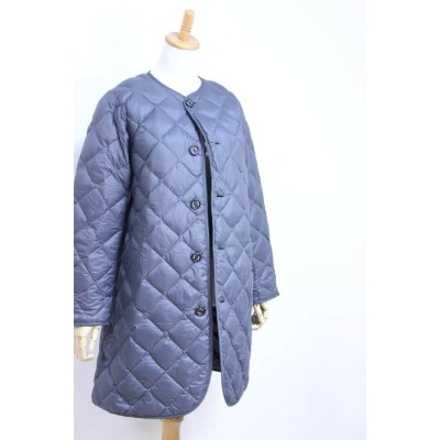 【SALE 30%OFF】GYMPHLEX(ジムフレックス)HAND QUILT DOWN ノーカラーロングコート #J-1372 NOK 3color 2020'A/W【Lady's】