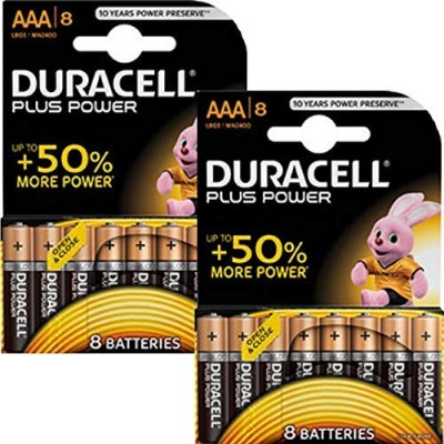 Duracell Plus Power AAAバッテリー(16個入り)