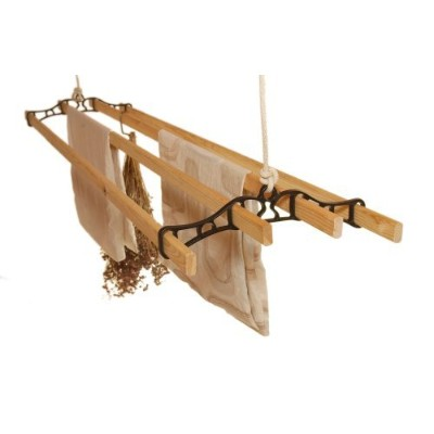 Classic Clothes Airer(ブラック - 1.5m / 4.11ft)