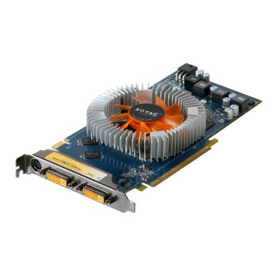 ZOTAC GeForce 9800 GT 512MB DVI *2/TV-out PCI Express 2.0 x16 ZT-98GES4P-FDR【中古】【送料無料セール中! ...