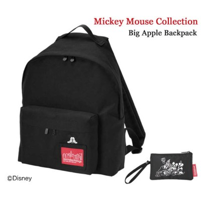 Manhattan Portage マンハッタンポーテージ Mickey Mouse Collection Big Apple BackPack バックパック MP1210MIC19