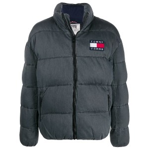 Tommy Jeans padded jacket - ブラック