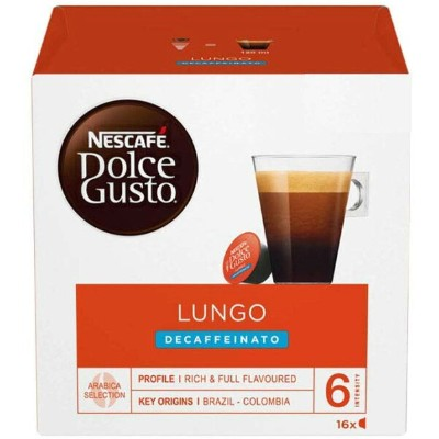 Nescafe Dolce Gusto Caffe Lungo Decaf (16 Capsules)