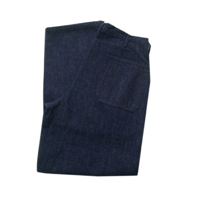 WAREHOUSEウエアハウス ジーンズ 1202 U.S.NAVY DENIM UTILITY TROUSERS(ONE WASH) 無地