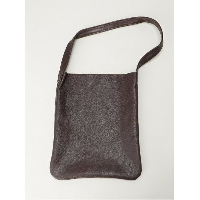 THE CASE THE CASE/(U)LEATHER ONE SHOULDER ザケース バッグ トートバッグ ブラウン【送料無料】