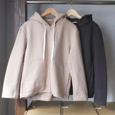 LA MOND. ラモンド ZIP HOOD JACKET 2 colors